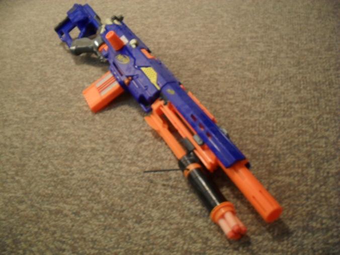 Nerf Masterkey Shotgun Attachment Nerfboyz
