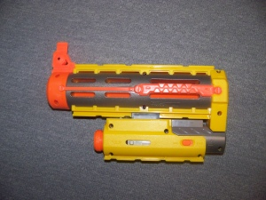 Recon CS-6 barrel extension with a tac light