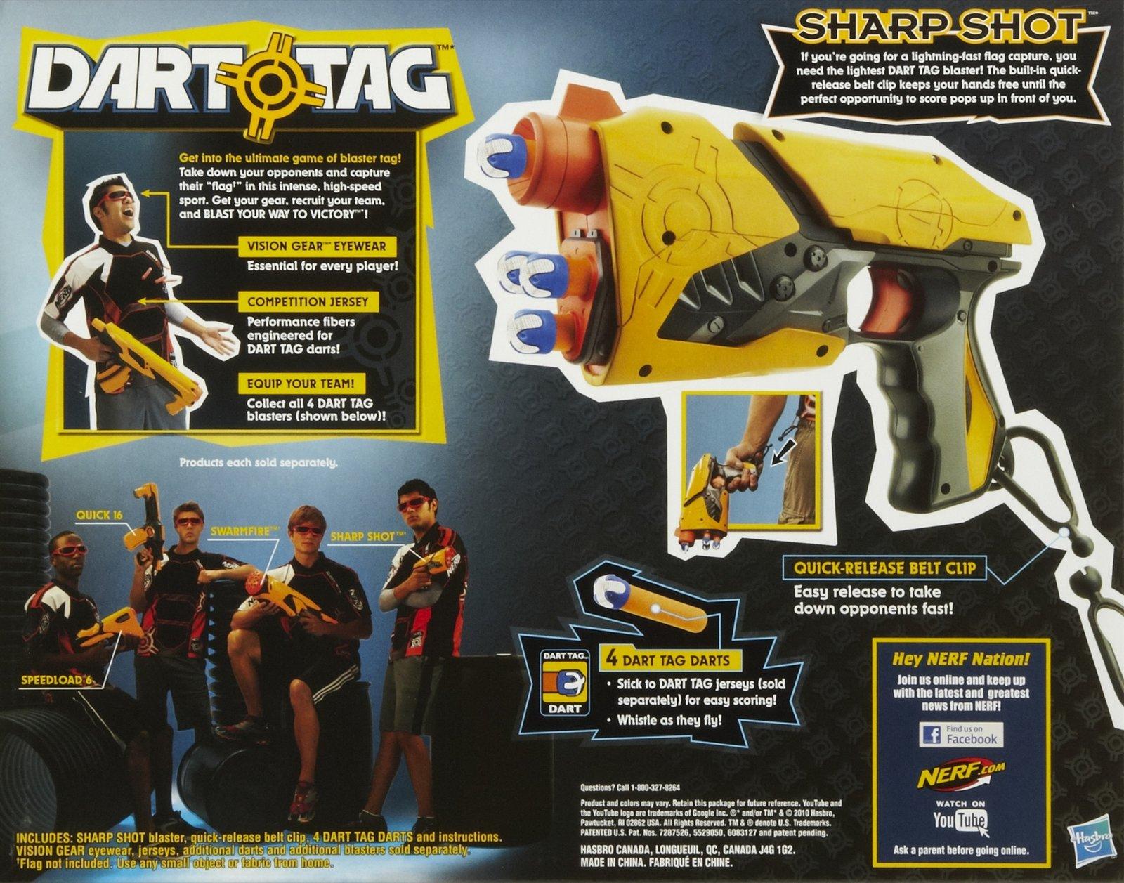 nerf sharp shot box back